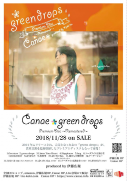 """green drops -Premium Disc- / Canae"" Flyer"